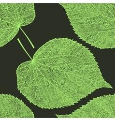 Leaf skeleton pattern vector