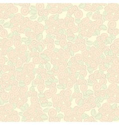 Textured background with beige rose vector image
