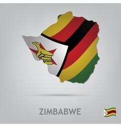 zimbabwe vector image