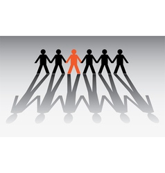 Pictogram groups vector image vector image