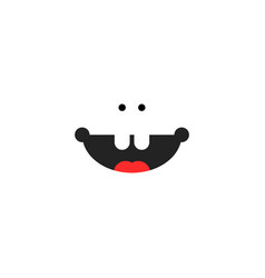small child smile icon vector image