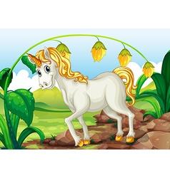 Unicorn vector image vector image