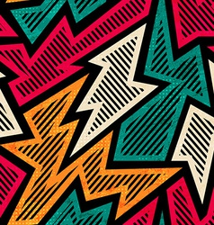 abstract mosaic seamless pattern vector image
