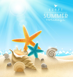 Summer holidays vector
