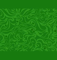 abstract seamless green background vector image