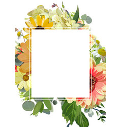 Design vertical card rectangular text space vector