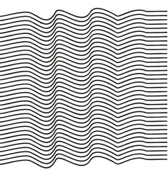 Elegant stripe waves vector
