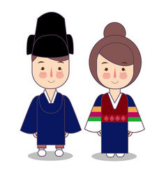 king and queen ceremonial traditional national vector image