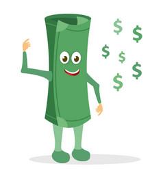 paper money character vector image