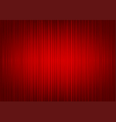 Red striped curtain background vector