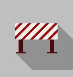 Roadblock icon vector