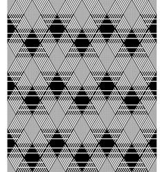 Seamless diamonds pattern vector