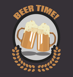 Take a beer vector