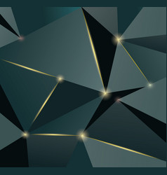abstract polygonal luxury pattern premium vector image