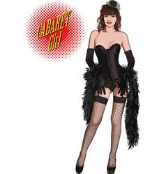 Cabaret girl vector