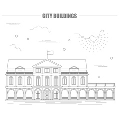 City buildings graphic template City buildings vector image