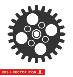 Cogwheel Eps Icon vector