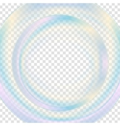 Colorful abstract transparent circle background vector image