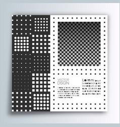 square banner template minimal modern design vector image
