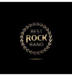 Best rock band vector image vector image