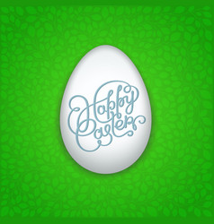 artistic easter eggs floral 1 vector image