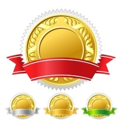 icon medal vector image vector image
