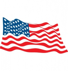 July 4th icons vector image vector image