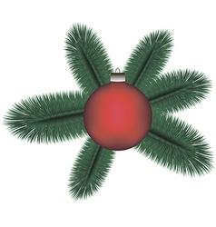Cristmas tree v vector