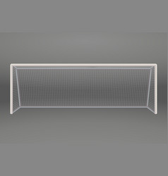 football or soccer goal vector image