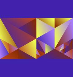 polygonal dynamic minimal gradient triangle vector image