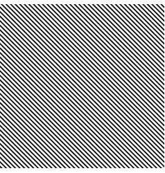 Striped seamless pattern with diagonal line black vector