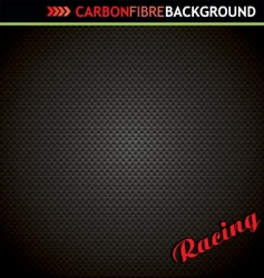 carbon fibre background vector image