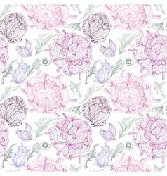 Romantic Provence Pattern vector image