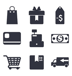 sales and retail vector image vector image