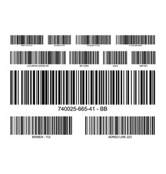 Bar code label price icon barcode scanner vector