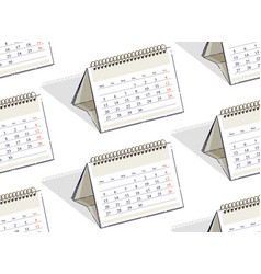 calendars seamless background backdrop for vector image