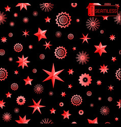 glamour red and black seamless texture background vector image