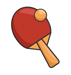 Ping pong sport vector