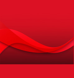 red color background abstract art modern vector image