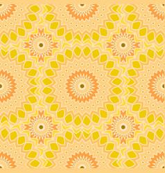 Seamless pattern design mandala round elements vector