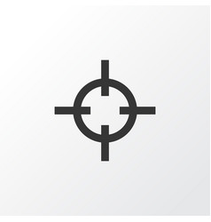 sniper icon symbol premium quality isolated vector image
