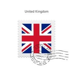 United Kingdom Flag Postage Stamp vector