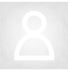 Symbol on textured paper vector image