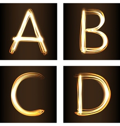 A B C D vector