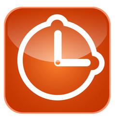 alarm app icon vector image
