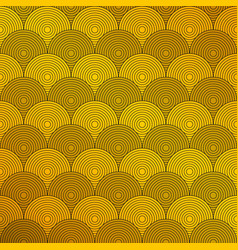 art deco of circle pattern background presenting vector image
