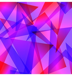 Blue red Fractal Abstract Background in different vector