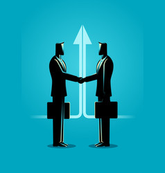 Business deal concept vector