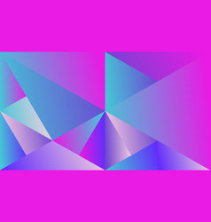 Dynamic colorful abstract gradient mosaic vector