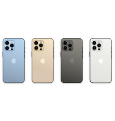 new iphone 13 pro vector image